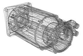 Prototype CAD image for chinamould